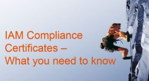IAM Compliance Certificates